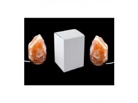 Lampara de sal  grande de 7 a 10kg. en caja de 2ud