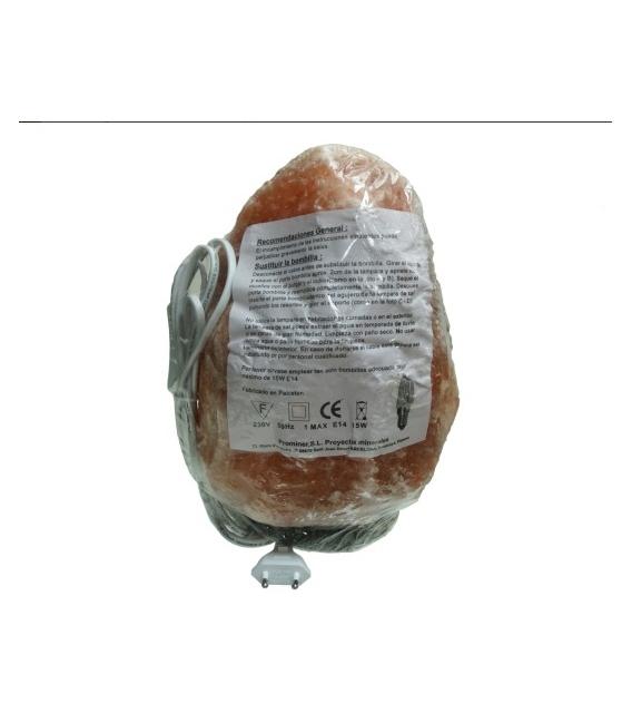 Lampara de sal mediana de 4 a 6 kg (4ud)