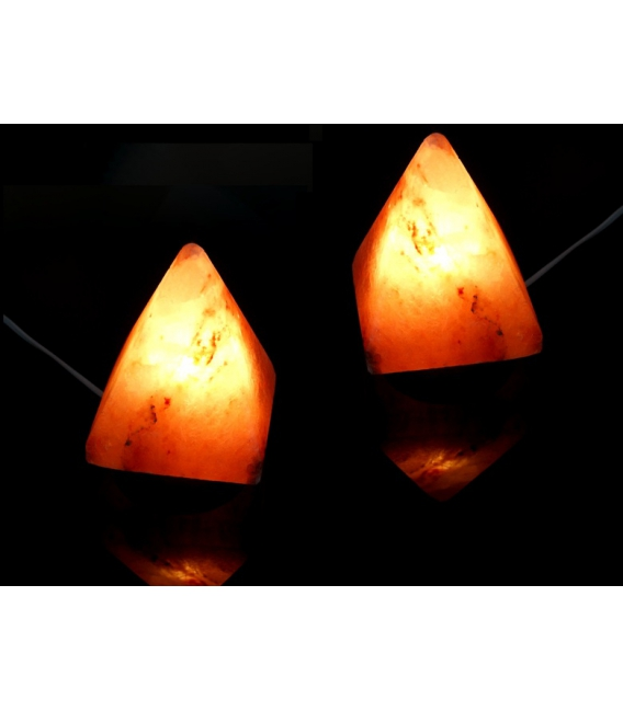 LAMPARA SAL PIRAMIDE PEQUEÑA (4ud)