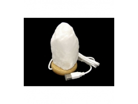 Lámpara de sal blanca USB cambio de color