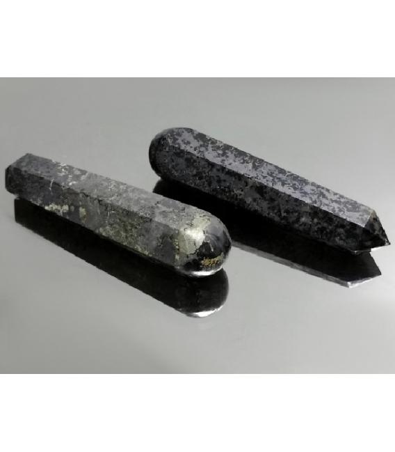 Masajeador lápiz de jade con magnetita