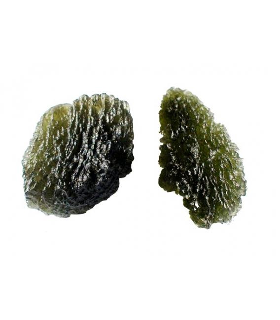 Moldavita cristalizada 10mm a 20mm (10gr)