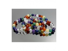 PULSERA 7 CHACRAS BOLA 8mm EXTRA -1ud-