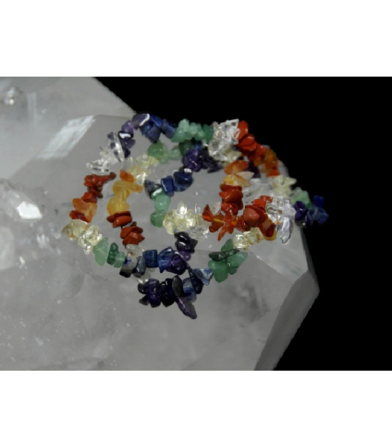 LOTE PULSERA 7 CHACRAS CHIP (10ud)