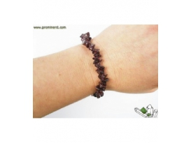 PULSERA CHIP  PRIMERA  GRANATE -10ud-