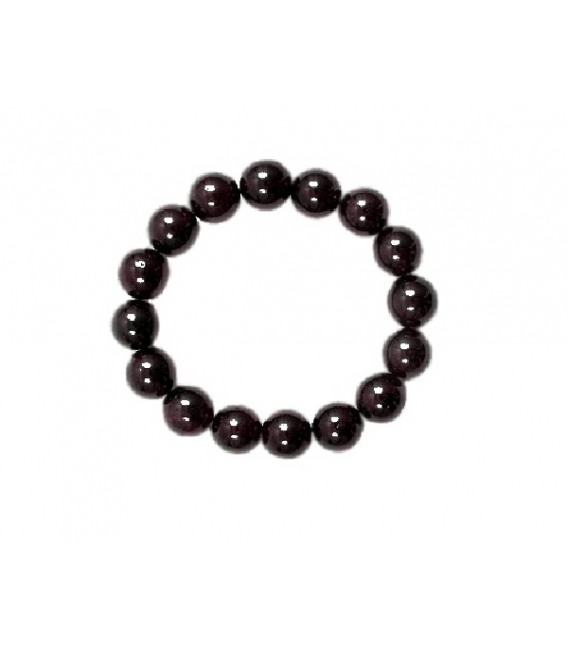 PULSERA GRANATE BOLA 13-14mm