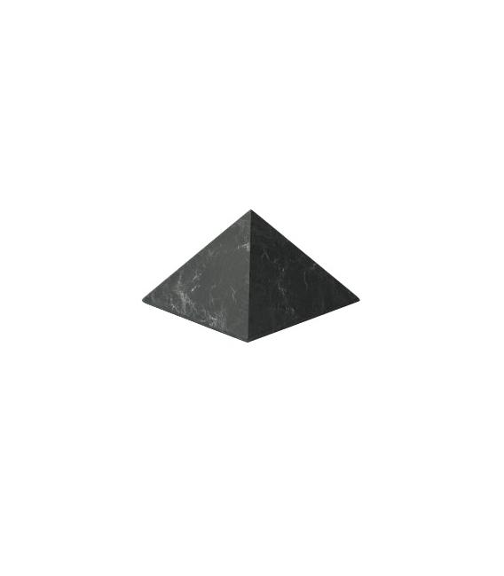 SHUNGITA PIRÁMIDE NO PULIDA 8x8cm (1ud)
