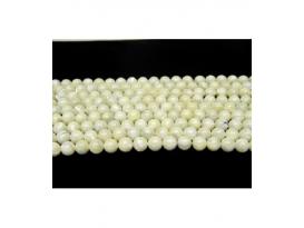 Hilo bola madre perla 8mm