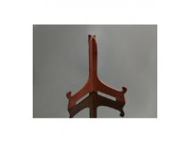 Soporte plástico color madera mediano (12ud)
