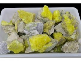 AZUFRE CRISTALIZADO -PERU- (1kg)