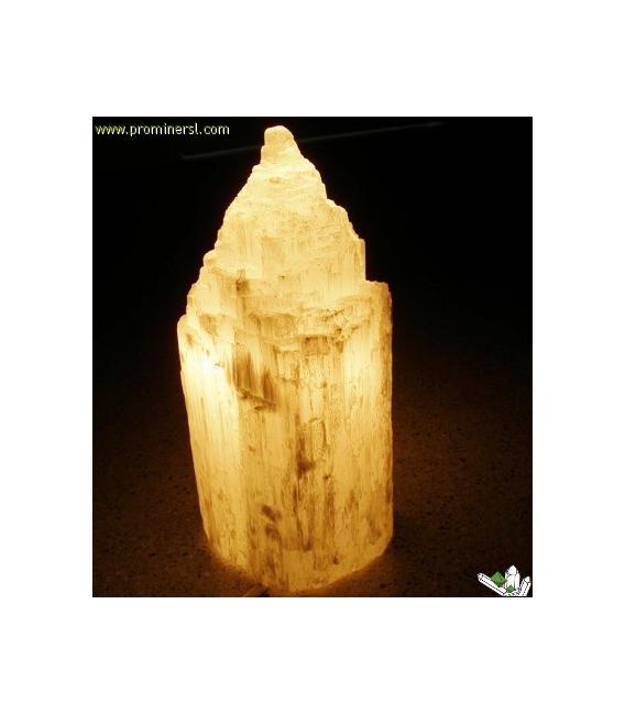 Lámpara de selenita catedral oferta (8ud)