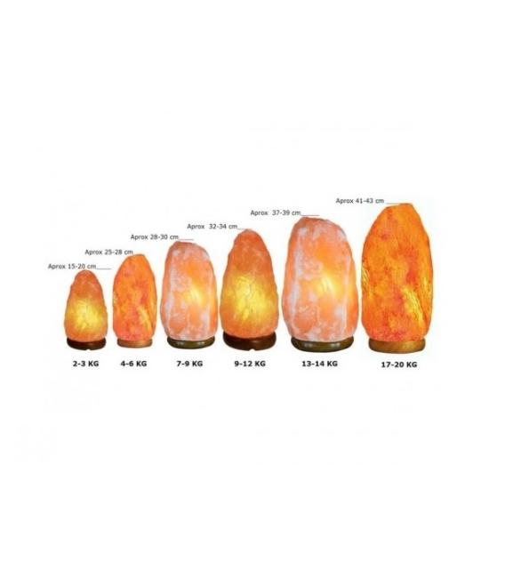 LAMPARA SAL GIGANTE 50-60 KG (1UD)