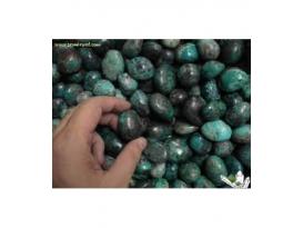 Rodado crisocola de 20 a 30 mm  (250g)
