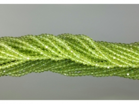 HILO BOLA FACETADO OLIVINO 3mm (1ud)
