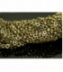 Hilo aros hematite color oro 8mm