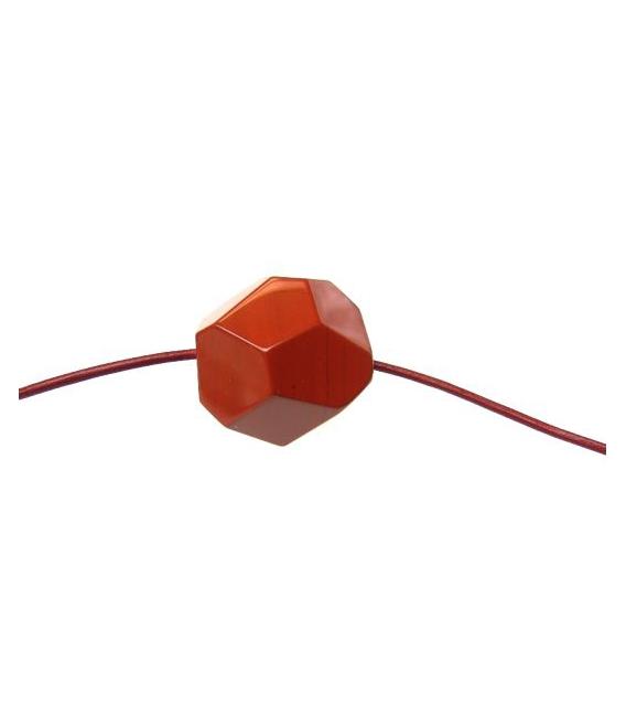 CUERO ROJO ENCERADO 1.5mm ROLLO -100mts-