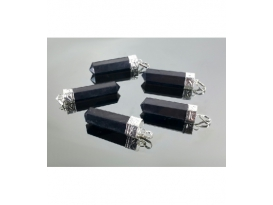 Colgante punta generador shungita(5ud)