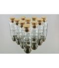 LOTE BOTELLA MINI CRISTAL (10 botellas)