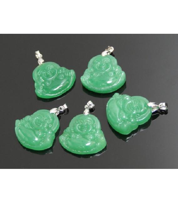 Colgante buda pequeño jade (5ud)