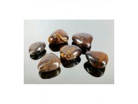 Colgante perita opalo marron /verdoso (3ud)