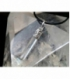 Colgante punta generador cuarzo (5ud)