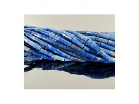 Hilo tubo lapislazuli 14x4mm