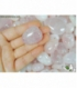Colgante perita cuarzo rosa(5ud)