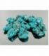 Rodado howlita azul de 20 a 40mm (250gr)
