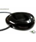 Colgante perita obsidiana negra (5ud)