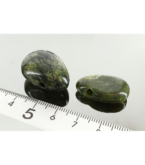 Colgante perita jade canadiense(5ud)