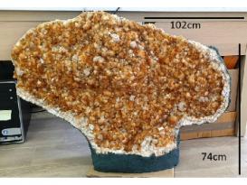DRUSA CITRINO GIGANTE (131.850kg)