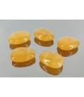 Colgante perita calcita naranja(5ud)
