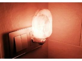LAMPARA SAL BLANCA BEBE (1ud)