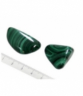 Rodado malaquita 20 a 35mm (1kg)