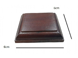 PEANA MADERA 6X6cm (1ud)