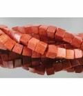 Hilo dado coral manzana 5mm