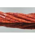 Hilo cilindro coral manzana pequeño