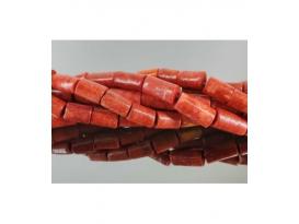 Hilo cilindro coral manzana mediano