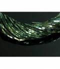 Hilo rectangulo hematite color verde 4x2mm