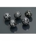 Esferas obsidiana nevada 18 mm (5ud)