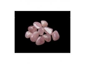 Rodado cuarzo rosa de 15 a 25mm (250gr)