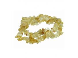 Pulsera chip citrino (5ud)