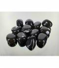 Rodado obsidiana nevada mediano (1kg)