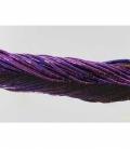 Hilo tubo hematite color purpura