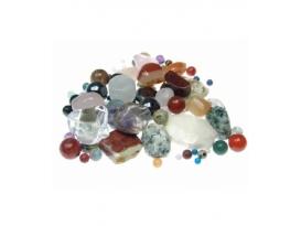 Cuentas minerales variados