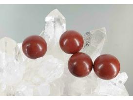 Esferas jaspe rojo comercial 20mm (5ud)