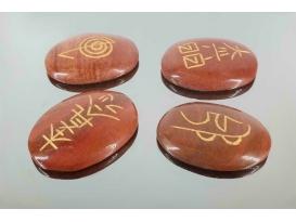 Juego reiki jaspe rojo (4 simbolos)