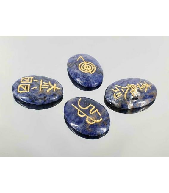 Juego reiki sodalita (4 símbolos)