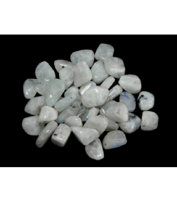 Rodado de piedra luna de 5 a 15 mm (250gr)