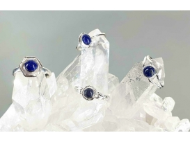 Anillo adaptable lapislazuli plata
